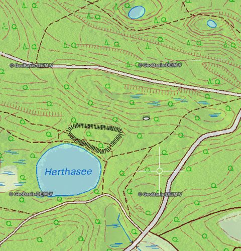 germany topo map 110000
